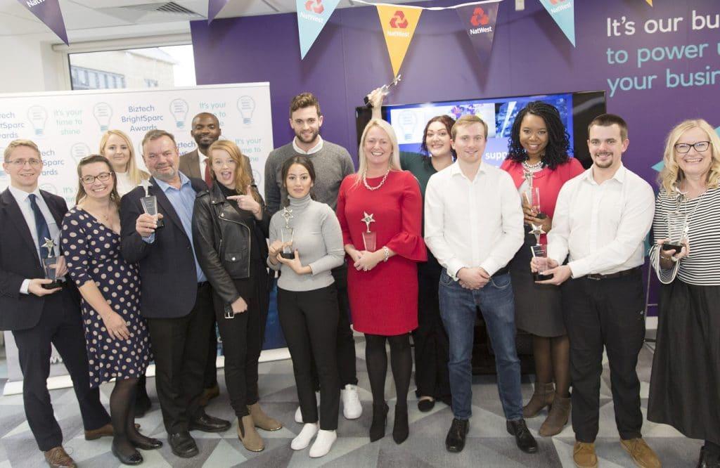 Biztech BrightSparc & Digital Award Winners 2019 - ws